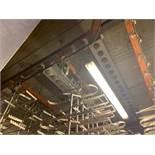 Overhead Rail System (5) 55 ft. Runs of Mild Steel Rail (3) Rail Switches