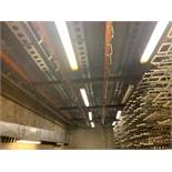 (5) 55 ft. Runs of Mild Steel Rail, (3) Rail Switches