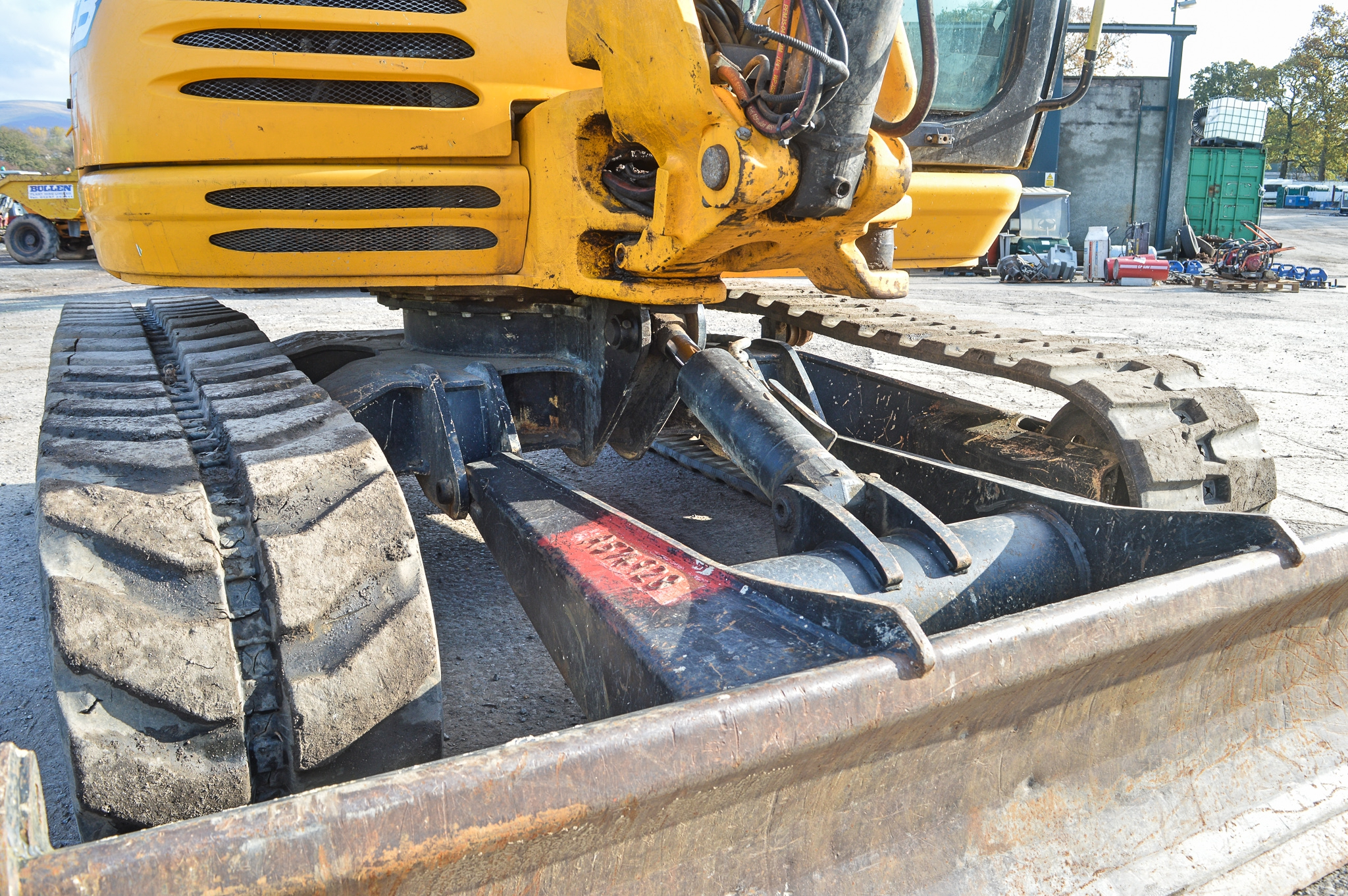 Lot 6 - JCB 8085 ZTS 8.5 tonne rubber tracked midi excavator Year: 2012 S/N: 1072502 Recorded Hours: 3250