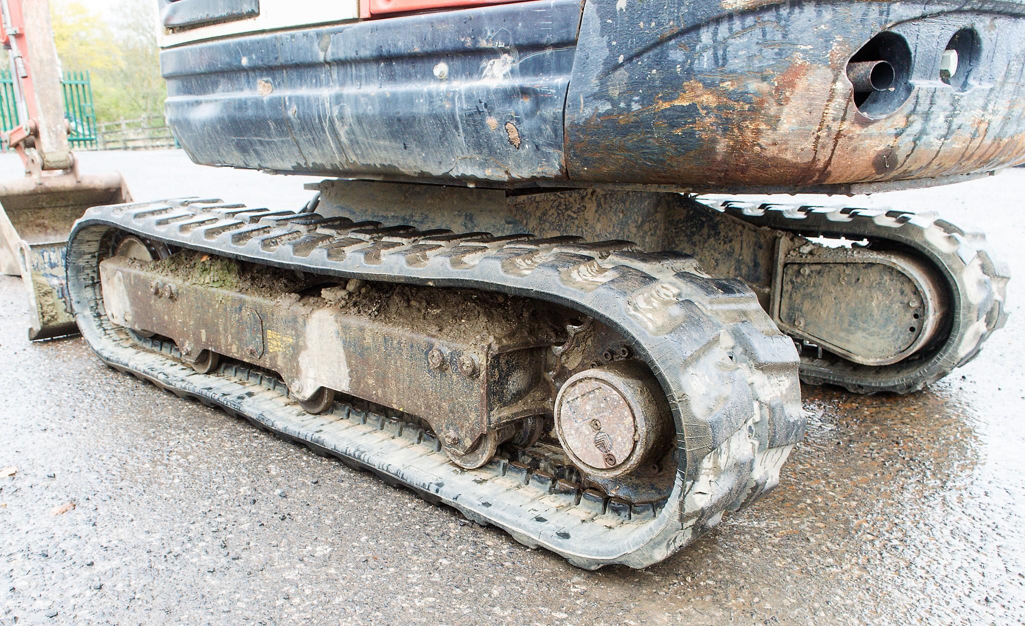 Lot 12 - Kubota KX61-3 2.5 tonne rubber tracked mini excavator Year: 2012 S/N: 79211 Recorded Hours: 3061