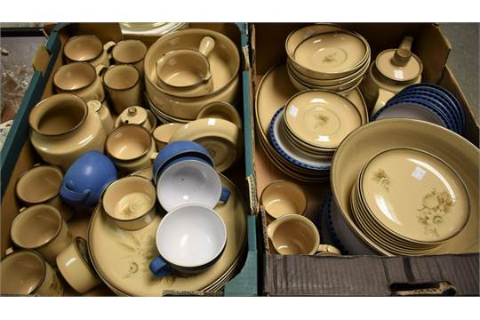 milk jug Denby memories-plates bowls platter gravy jug oven dish