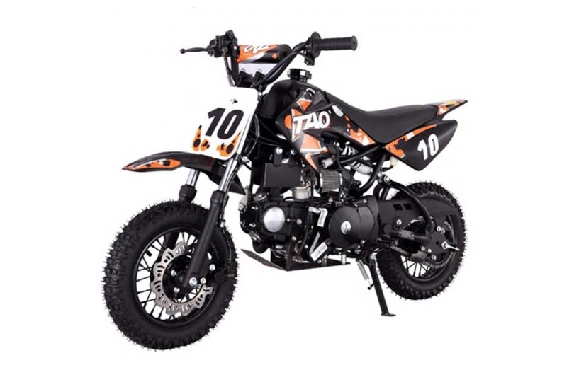 Lot 18022 - V Brand New 110cc USA Motocross Mini Dirt Bike - Electric Start - Air Cooled 4 Stroke -