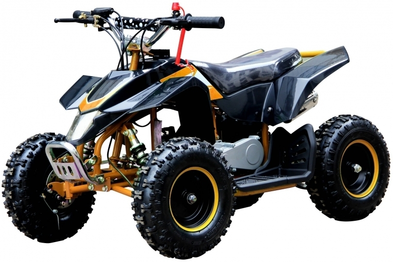 Lot 18044 - V Brand New 50cc Zikai Mini Quad - Colours May Vary