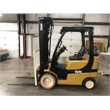 2013 YALE 5,000-LB., MODEL: GLC050VX, S/N: A910V23956L, LPG, LEVER SHIFT TRANSMISSION, SOLID