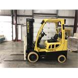 "2014 HYSTER 5,000-lb., Model: S50FT, LPG, Solid Tires, 3-Stage Mast, Sideshift, 42"" Forks, 8,043 HRS"