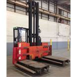 RAYMOND 6,000-LB CAP SIDE LOADING FORKLIFT MODEL 76-SL100TN 6253 HRS *LOCATED IN MI*