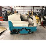 TENNANT FLOOR SCRUBBER, MODEL: 7300, S/N: 7300-1900, 36 VOLTS, GVWT: 4,580, 1,297 HOURS