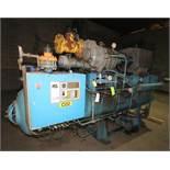 FES 400 hp Screw Ammonia Compressor, MainFrame 1982, Frame #80236, with Stellar 2011 Rebuilt Screw