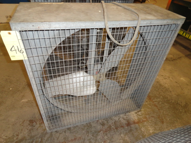 Lot 46 - BOX SHOP FAN, DAYTON 36""