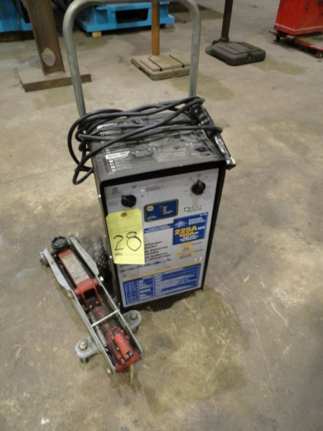 Lot 28 - BATTERY CHARGER, NAPA, 225 amp, 12 v.