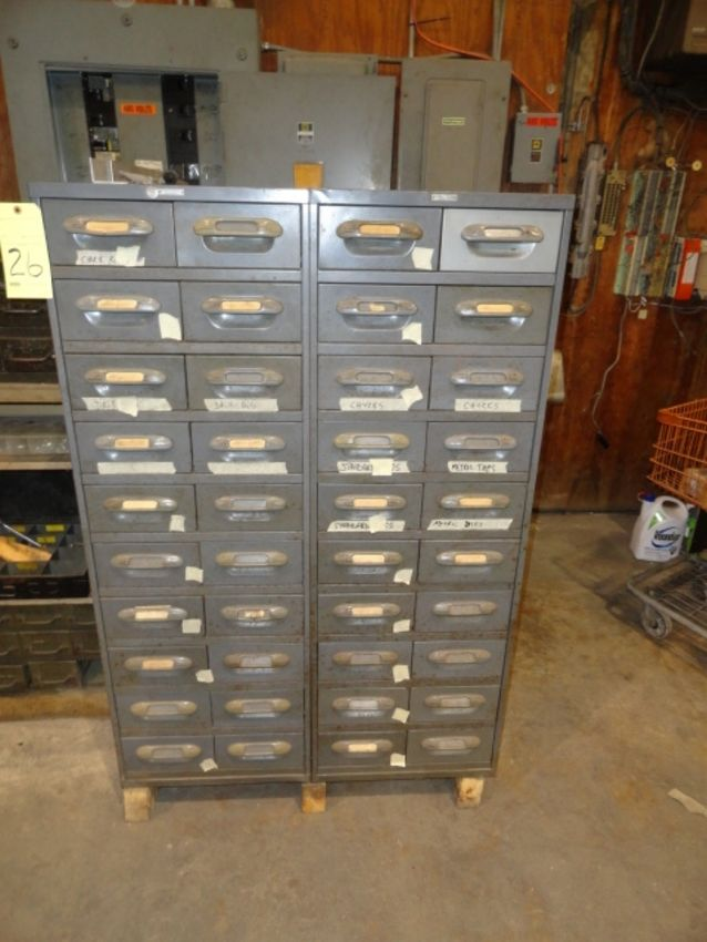 Lot 26 - LOT OF TOOL CABINETS (2), THE WRIGHT LINE, 20-drawer (ea.)