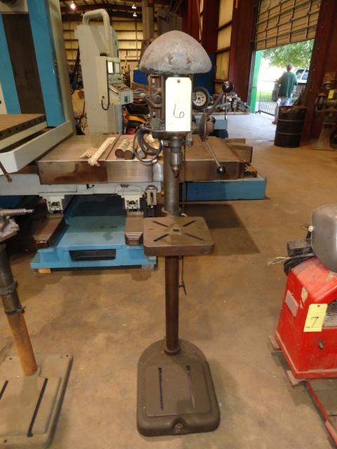 Lot 6 - UPRIGHT DRILL PRESS, ATLAS MDL. 1060, S/N 024260