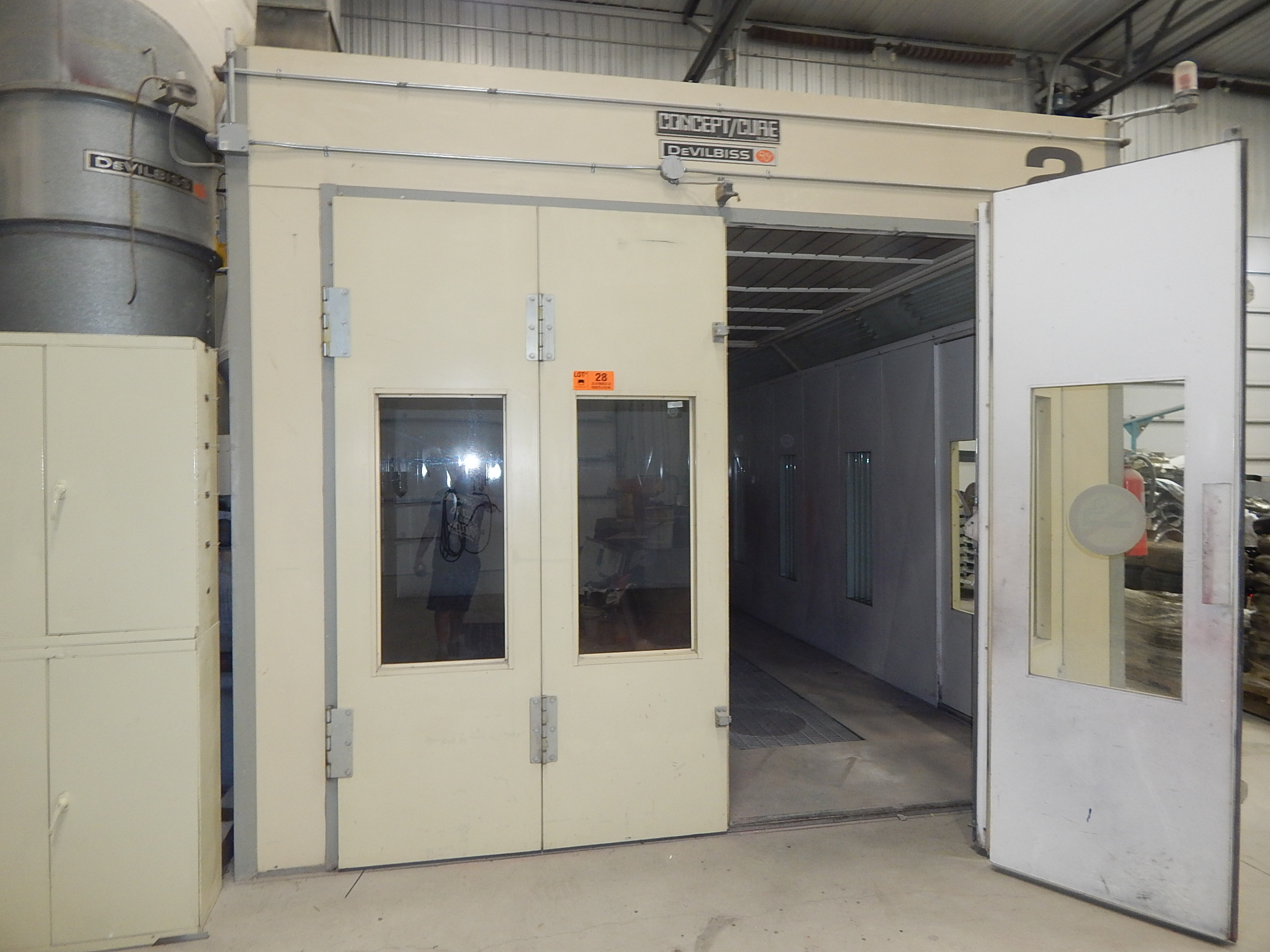 Unicure Paint Booth For Sale