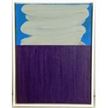 JOHANNA MELVIN (BRITISH b.1951), 'UNTITLED 16', 2015, acrylic on linen, (40 x 30cm). PROVENANCE: