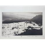 NORMAN ACKROYD CBE, RA (BRITISH b.1938), 'MUCKLE ROE', 2012, etching, signed, titled and numbered in