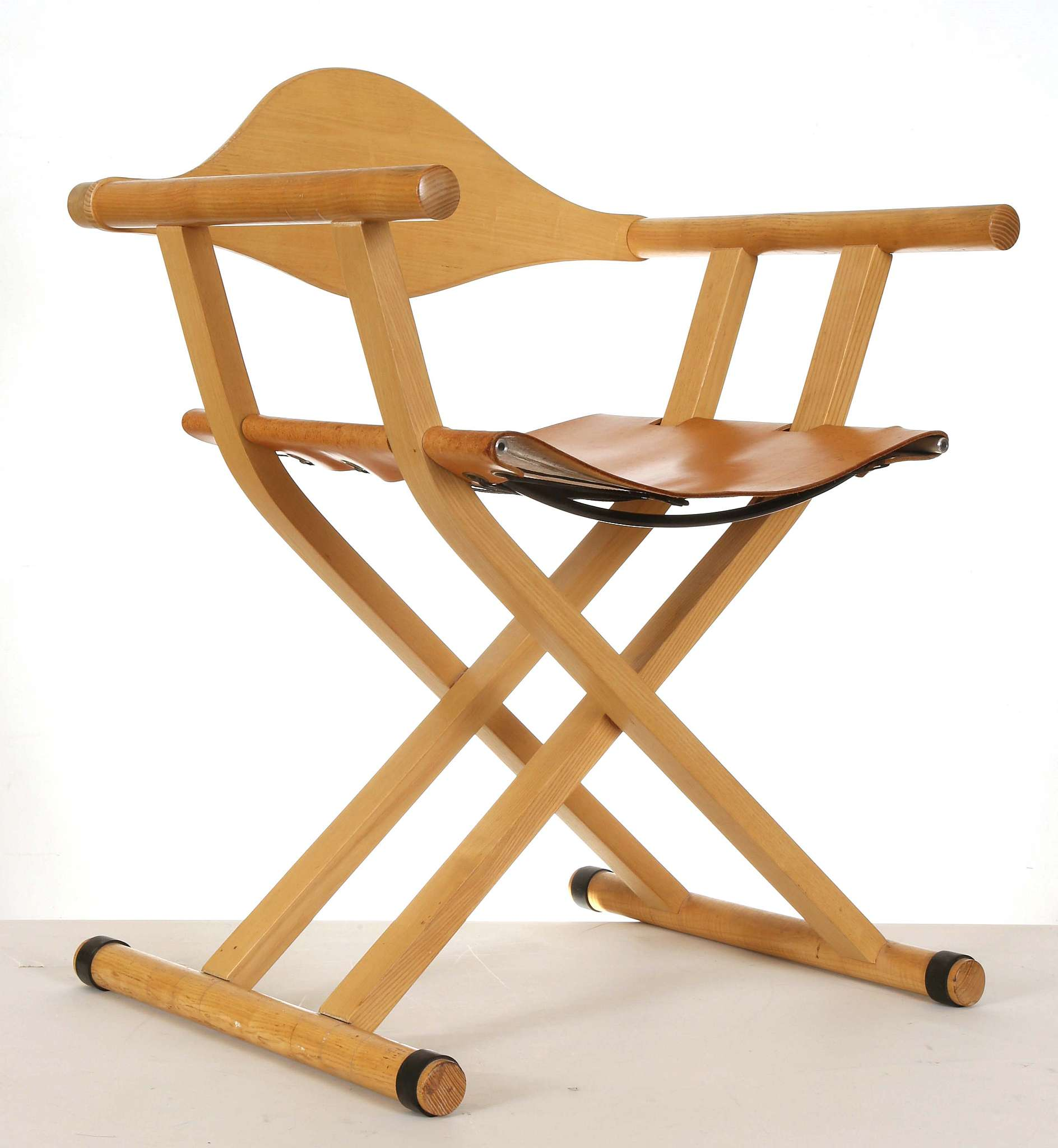 A Trannon C2 folding directors chair designed by David Colwell
