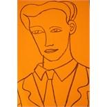 ADRIAN WISZNIEWSKI (BRITISH b.1958), 'YOUNG MAN',