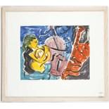JOHN DEWE MATHEWS, untitled, 2003, mono print, sig