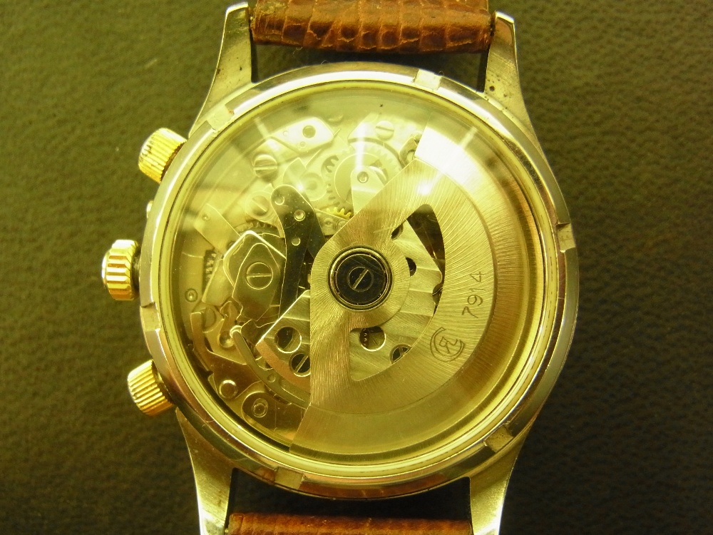 Lot 1096 - A gents Chronoswiss Pacific 100m stainle