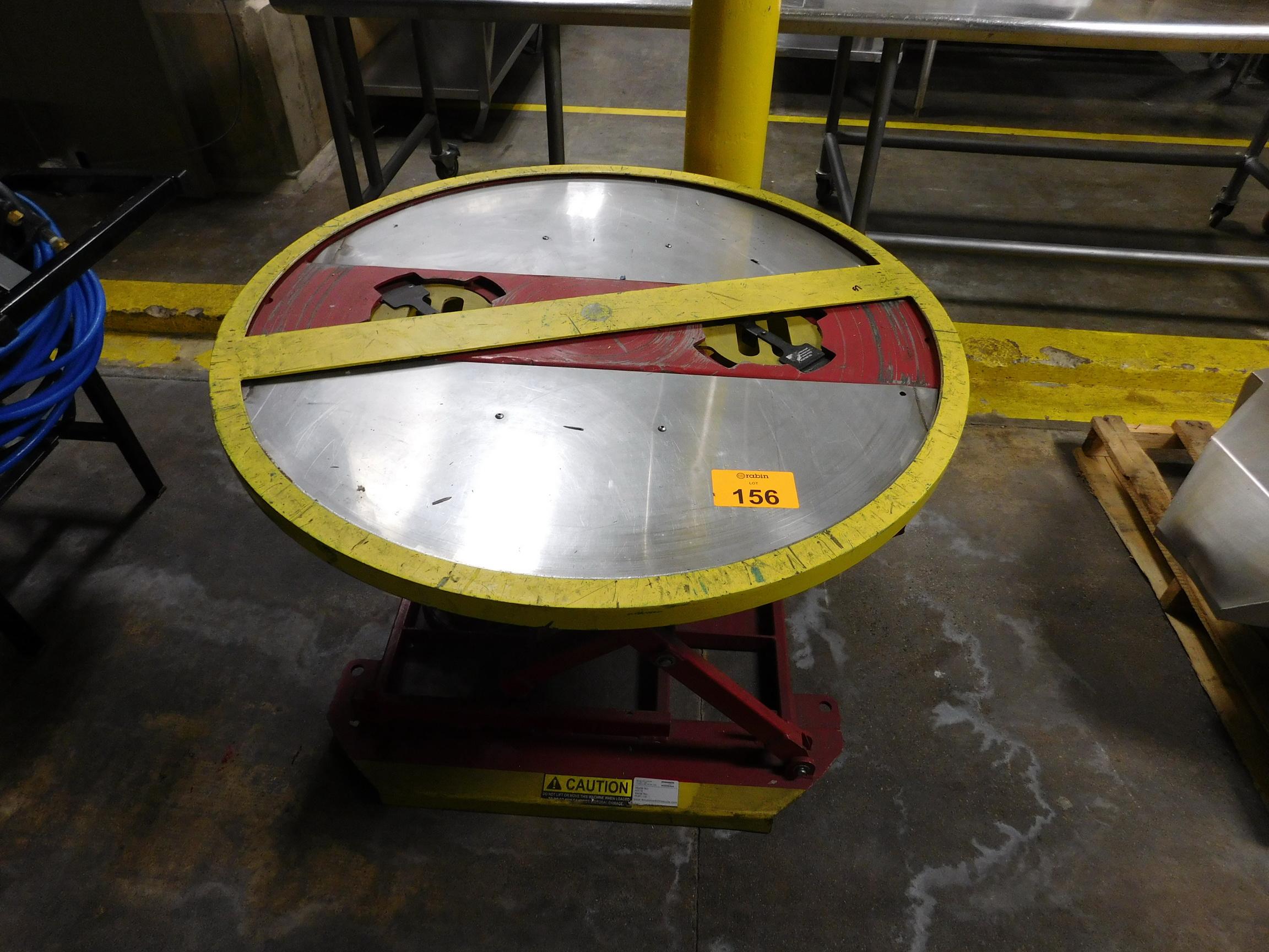 Lot 156 - Pallet Lift Table