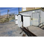 LOT OF STORAGE SHEDS (11), aluminum, assorted