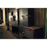 LOT OF STORAGE CABINETS (3), steel fabricated, w/contents
