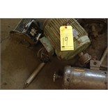 LOT OF ELECTRICAL MOTORS, assorted