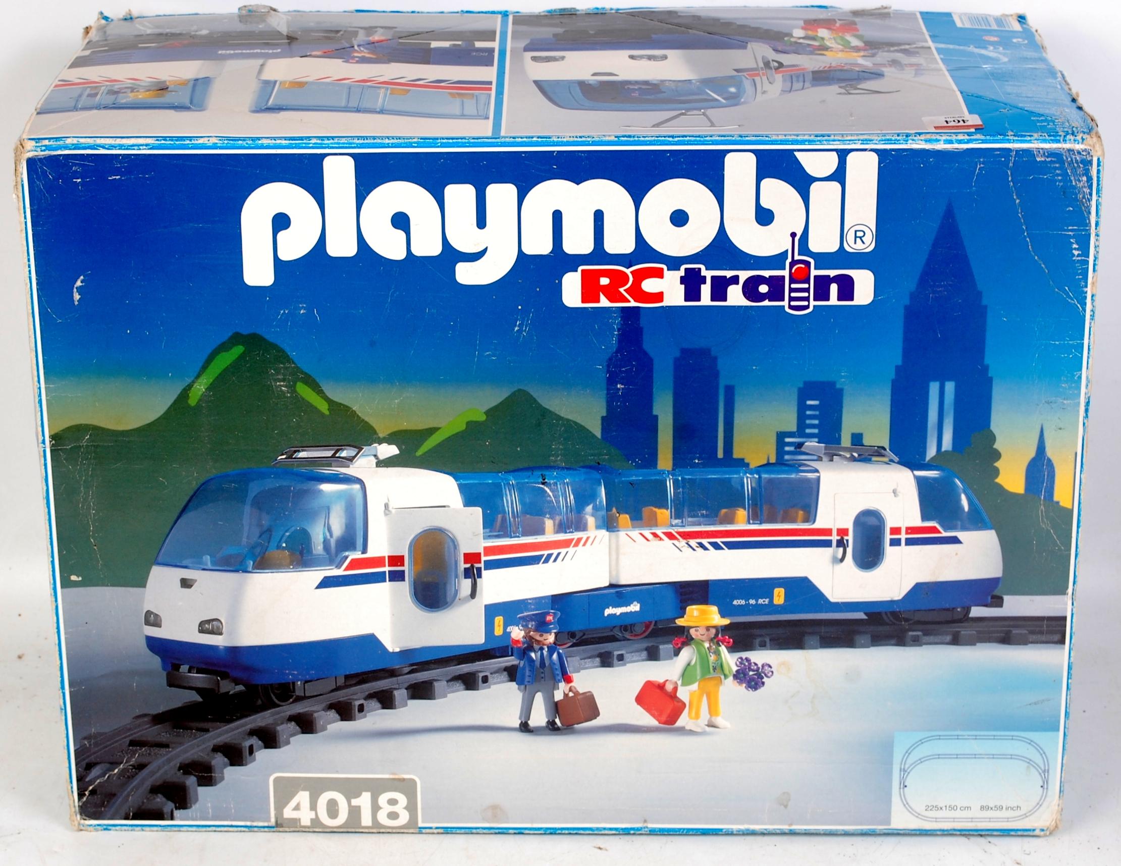 Playmobil Set 4018 G Gauge Remote Control Train Set