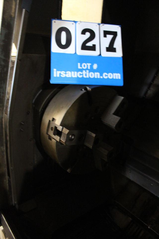 MORI SEIKI SL-6 CNC LATHE W/ FANUC SYSTEM 6T CONTROL W/ TOOLING - Image 4 of 5