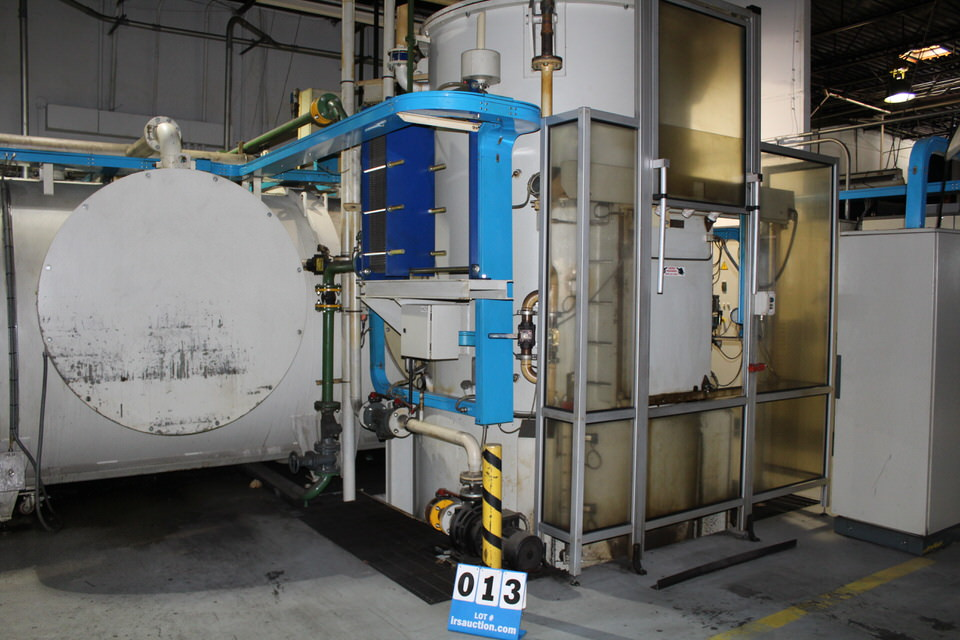 2001 ECM VACUUM QUENCH FURNACE, 1472-1877 DEGREE OPERAATING TEMP W/ FILTERS - Image 4 of 6