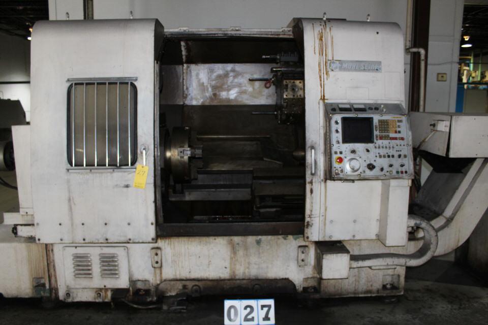 MORI SEIKI SL-6 CNC LATHE W/ FANUC SYSTEM 6T CONTROL W/ TOOLING