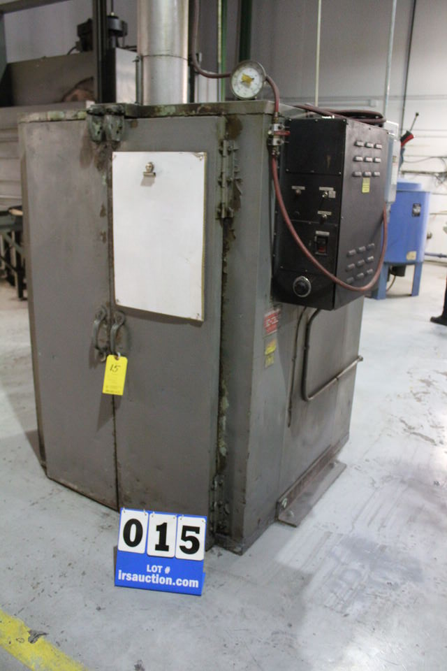 INDUSTRIAL & LABRATOR BATCH OVEN, MDL: TA500