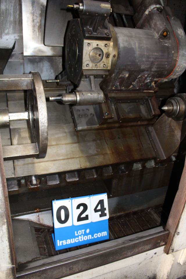 MORI SEIKI SL-4 CNC LATHE W/ FANUC SYSTEM 6-T CONTROL - Image 3 of 4
