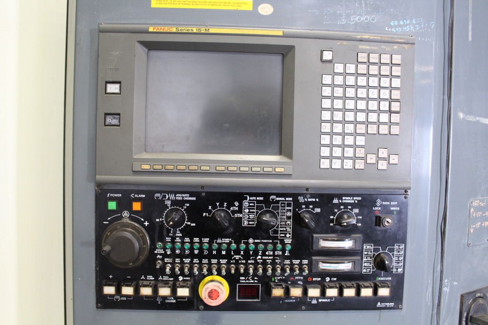 KITAMURA MY CENTER H-400 W/ FANUC M 15 CONTROL - Image 3 of 7