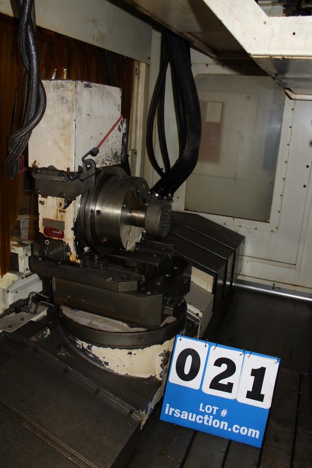 KITAMURA MY CENTER H-400 W/ FANUC M 15 CONTROL - Image 4 of 7