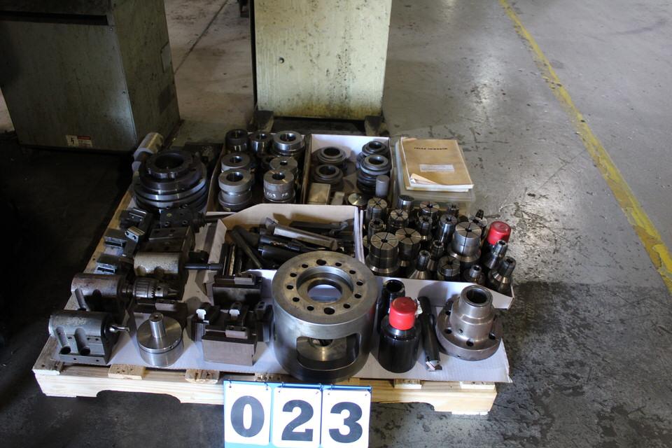 HITACHI SEIKI HITEC-TURN, 25G, HIGH GRADE CNC TURNING CENTER W/ SEICOS A10L CONTROL W/ TOOLING - Image 5 of 5