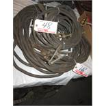 LOT - GENERAL ASSTD WELDING GROUND CABLES (1 PC - 75'L)