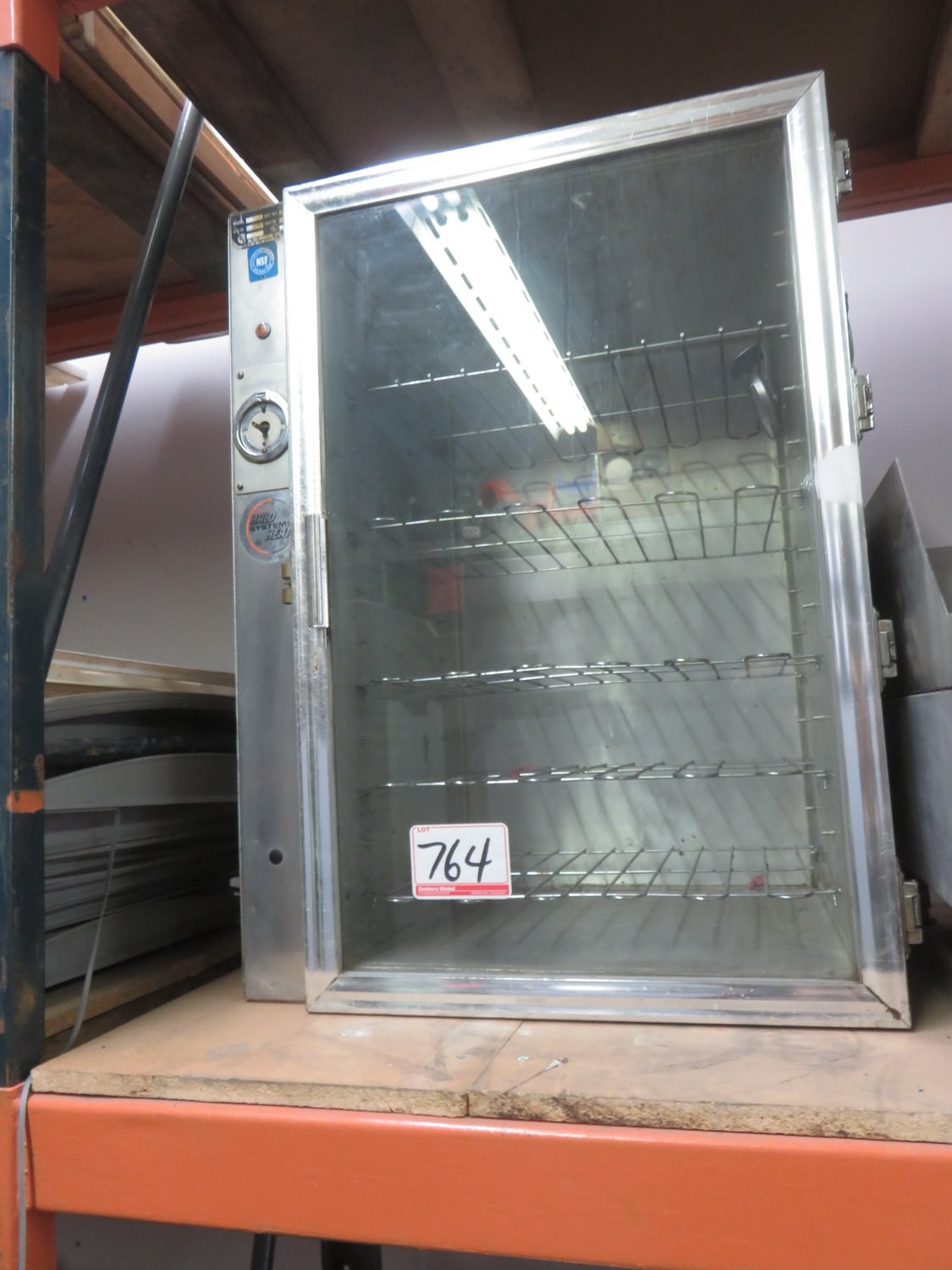 Lot 764 - LOT - ACTO-SHAM ELECTRIC HEATING CABINET 2 UNITS