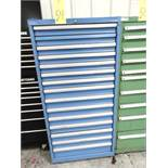 ROLLER DRAWER TOOL STORAGE CABINET, 15-drawer (empty)