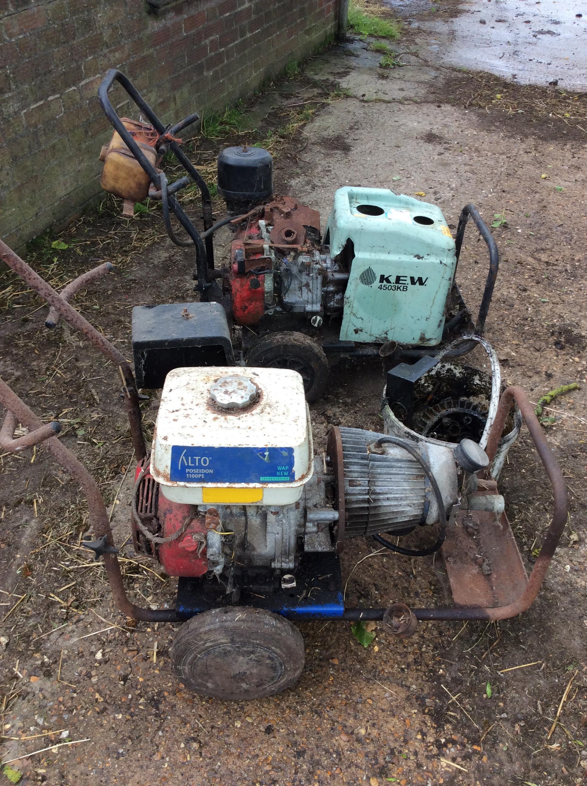 Lot 16 - Alto Poseidon 110 PE pressure washer.