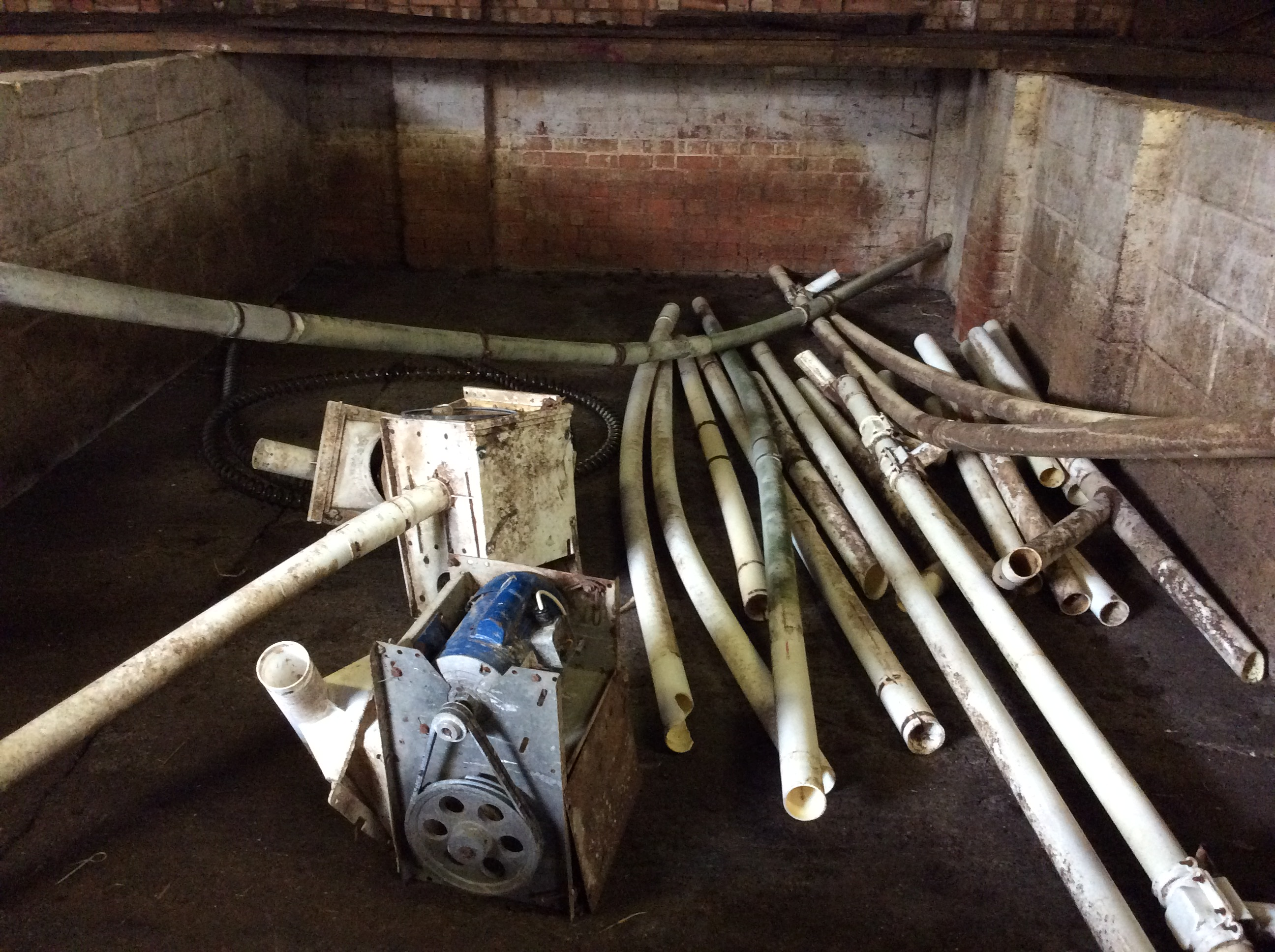 Lot 18 - Two EB augers (includes centreless auger.