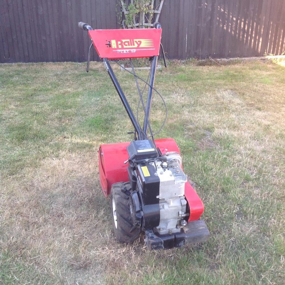 Lot 46 - Rally rotavator with 5HP Briggs and Stratton engine. Having a clear out, unused for past 2 years.