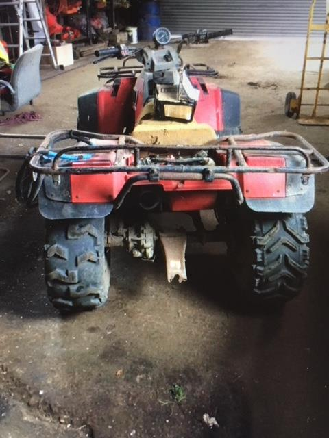 Lot 6 - Honda 350 ATV, early 90's, petrol, advised most reliable machine on the farm, owned from new.