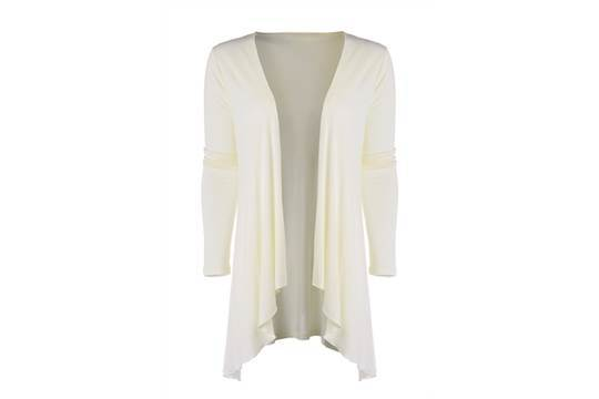 5 X B.YOU IVORY WATERFALL CARDIGAN (DELIVERY BAND A)