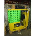 LAMOR SLICKBAR LPP 16L ENCLOSED HYDRAULIC POWER PACK WITH 22 HP LOMBARDINI DIESEL ENGINE AND