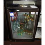 Osbourne single glass door bottle fridge
