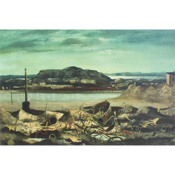 O'Neill, Daniel 1920-1974 Irish AR, Donegal Landscape. -  Image 1