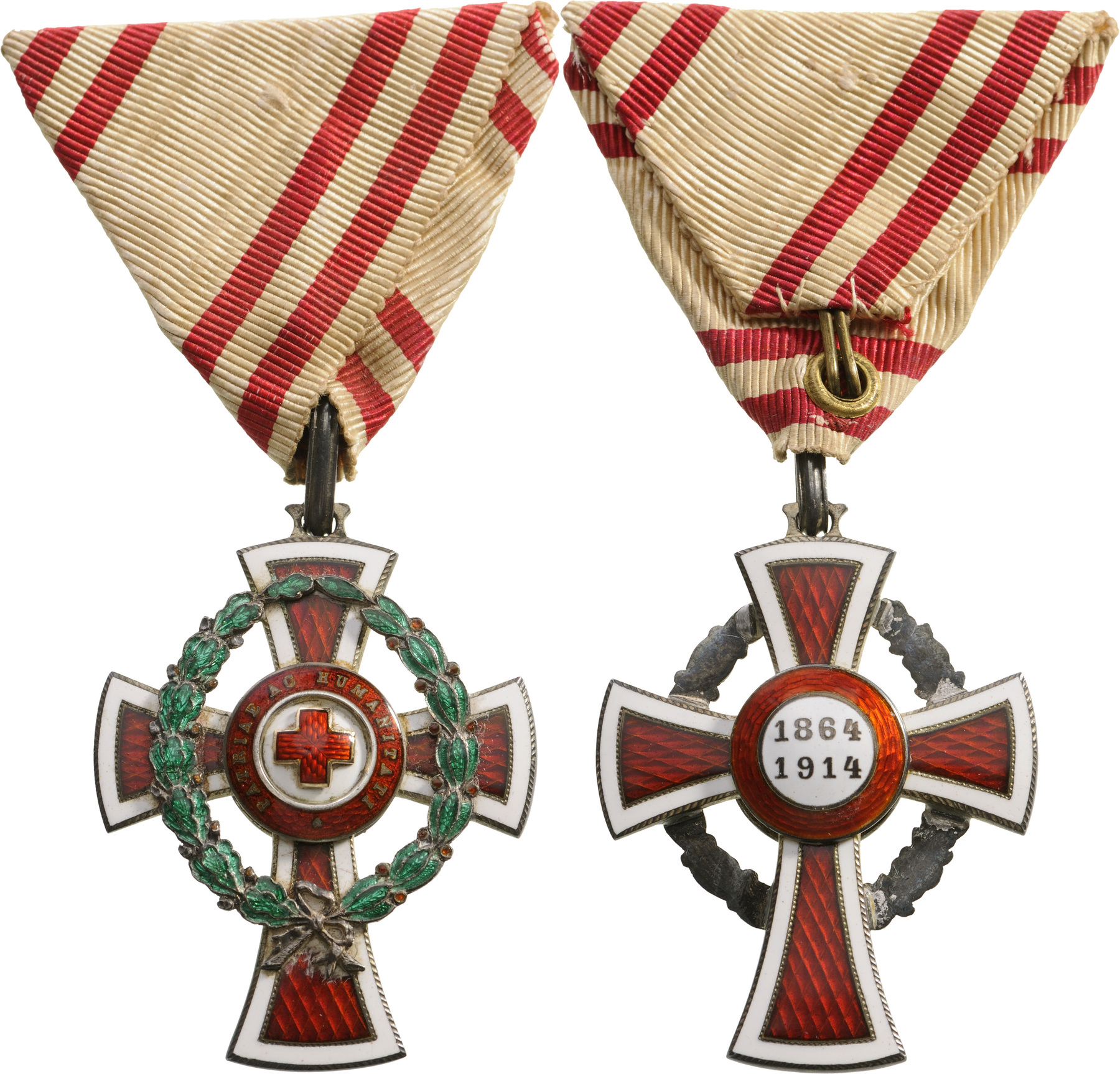 Lot 1370 - HONOR DECORATION OF THE RED CROSS