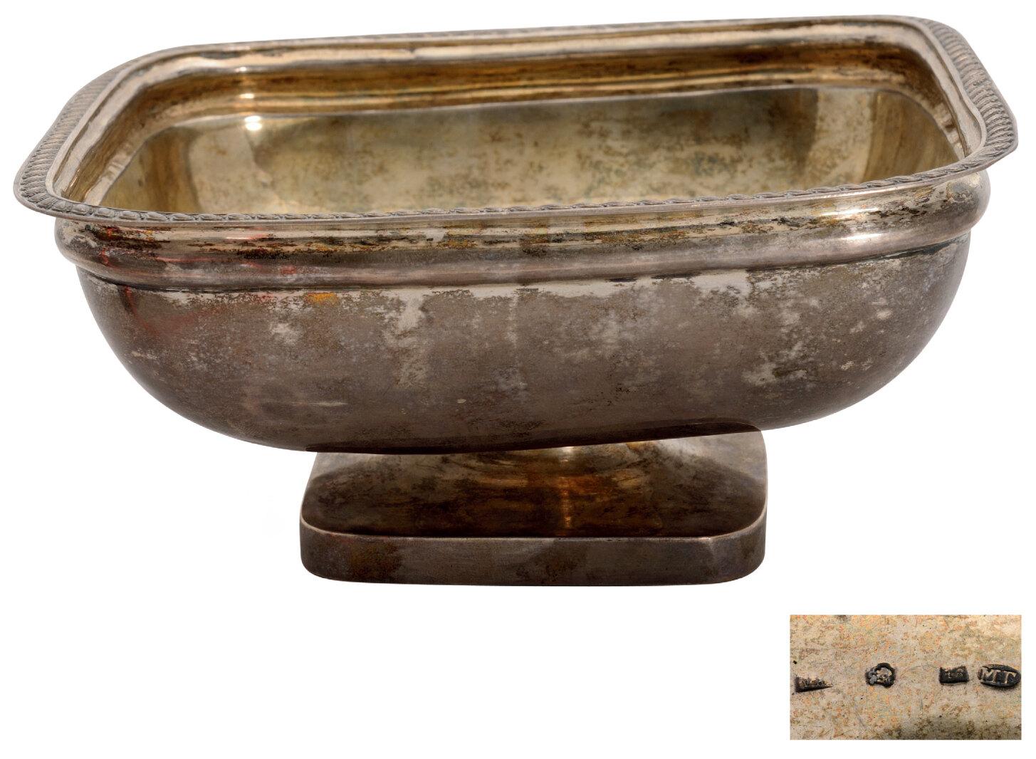 Lot 3598 - Silver gilt bowl
