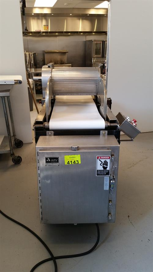 """Lot 25a - Werner Lehara 16"""" Rope Extruder - Model 090116 - serial#012 - Jacketed rollers"""